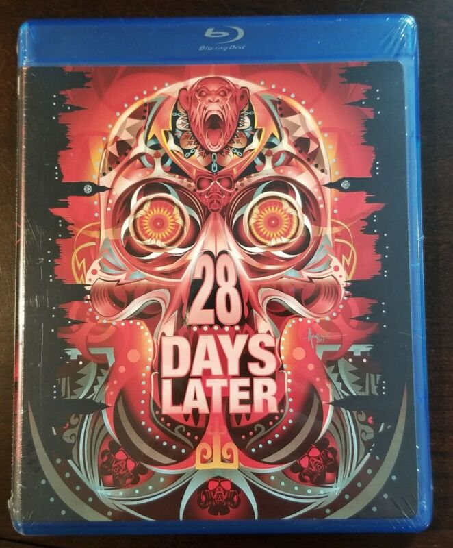 28 DAYS LATER (Blu-ray Disc, 2007) w/Exclusive Cover Art Insert *NEW*