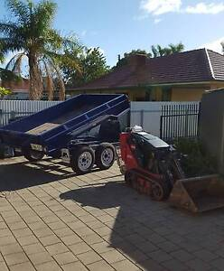 TORO DINGO MINI BOBCAT FOR HIRE AND LABOUR HIRE + TIPPER TRAILER Pennington Charles Sturt Area Preview