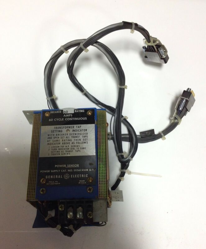 GENERAL ELECTRIC POWER SENSOR  0156C4508 G-1 105425