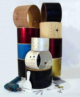 Tom shells; suit DIY drum project [DE 0210]