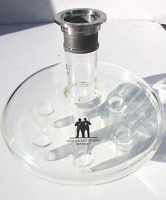 Adams Chittenden High Vacuum Glass Distribution Head Kf-40 2440 Cow New
