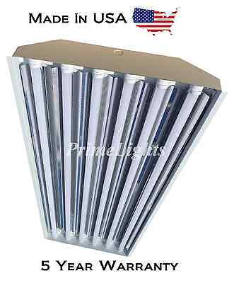 6 Bulb / Lamp T8 LED High Bay Warehouse, Shop, Commercial Light Fixture NEW