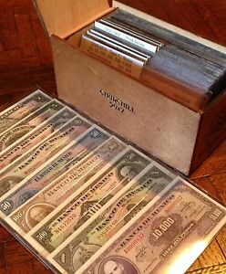 Collecting Banknotes from Mexico