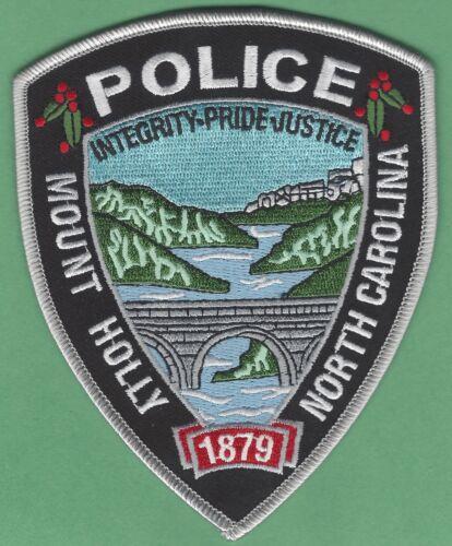 MOUNT HOLLY NORTH CAROLINA  POLICE SHOULDER PATCH