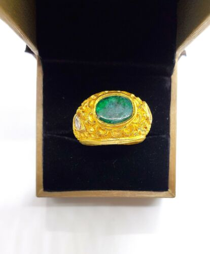 18kt Gold Indian Handcraft Ring