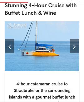 4hr yacht cruise to Stradbroke Island