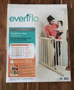 """Evenflo top of stairs gate-30-48"""""""