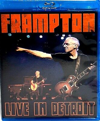 Peter Frampton: Live in Detroit BLU RAY ,NEW! Grammy , CONCERT, COMES ALIVE