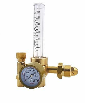 Argon Co2 - Tig Mig Flow Meter - Welding Regulator - Welder Gauge - Cga580 - Md