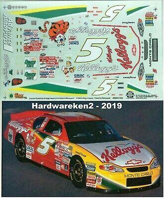 NASCAR DECAL # 5 KELLOGG'S 2000 MONTE CARLO TERRY LABONTE SLIXX
