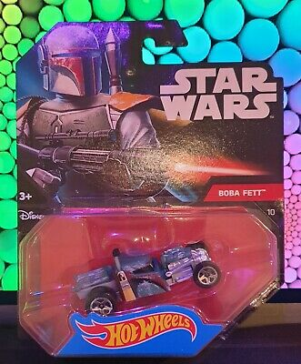 "Hot Wheels Star Wars Character Car - Boba Fett ""RED CARD"" Series"