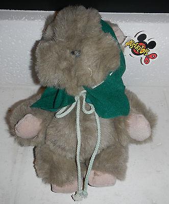 Vintage NWT 1991 Disney World Mouseketoys Star Wars Ewok Plush Stuffed Animal