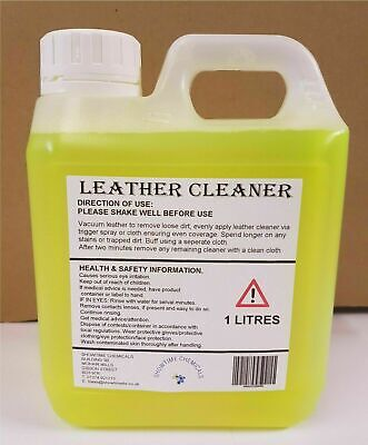 LEATHER CLEANER & CONDITIONER - CAR LEATHER SEATS,SOFAS 1L NEW