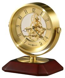 Howard Miller 645-674 (645674) Soloman Table Top Clock Desk, Mantel, Shelf