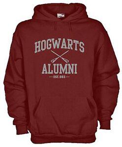 Felpa-Con-Cappuccio-KJ636-Hogwarts-Alumni-Est-993-Harry-Potter-Fantasy-Hogwarts