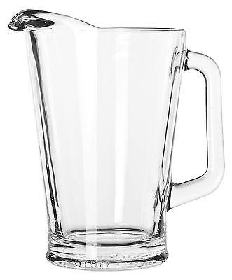 Libbey Glass Pitcher (5260), 60oz 60 Ounce Glass Pitcher