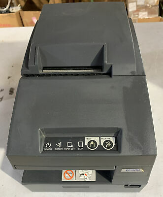 Epson Tm-u675 M146b Pos Receipt Printer - Gray