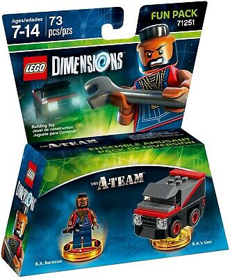 Lego Dimensions 71251 Fun Pack - The A-Team  B.A. Baracus -B.A.'s Van New Sealed