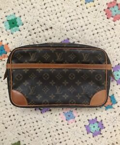 Authentic Louis Vuitton Compiegne 28 Camera pouch bag 654c5e9d3ed08
