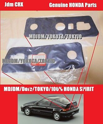 Oem Right + Left Side gasket Tail light 1988-91 CRX HONDA Genuine Part Jdm