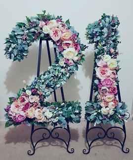 21 floral numbers for hire