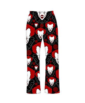 Gruselig Scary Zirkus Killer Clown Böse Pyjamahose Hausanzug - Scary Zirkus