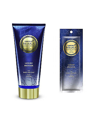 Body Self-tanning Lotion (Tannymaxx BELUGA LUXURY BRONZER Self Tanning Body Lotion with Caviar Extract)