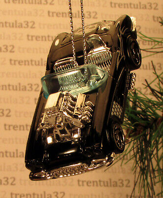 '58 CHEVY CORVETTE 1958 CHEVROLET BLACK GREY CHRISTMAS TREE ORNAMENT XMAS ()