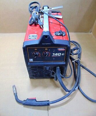 Lincoln Power Mig 140c Mig Welder 120v 30-140a