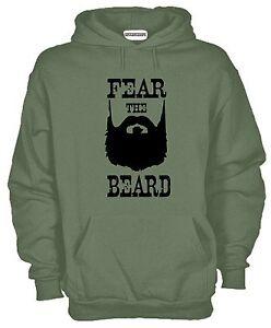 Felpa-Fear-the-Bear-KJ804-con-Cappuccio-Barba-Moustache-Hoodie-Hipster
