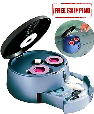 Disc Cleaner Machine Kit Reconditioner Cd Dvd Repair Renew Scratch Fix Doctor Disc Cleaner Kit