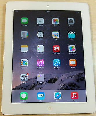 Apple iPad 4th Generation 64GB, Wi-Fi + Unlocked (AT&T), 9.7in - White