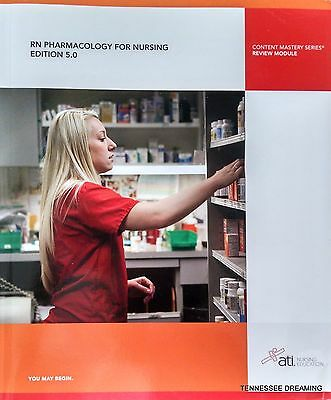 RN PHARMACOLOGY For NURSING EDITION 5.0 ATI Nursing Education Like New