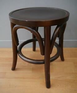 New Replica Thonet Bentwood Round Stools Small Timber Cafe Melbourne CBD Melbourne City Preview