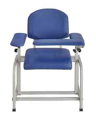 Adirmed Padded Blood Drawing Chair - Blue 997-01 Blu 99701blu
