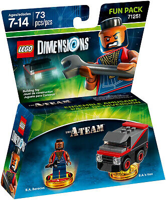 New In Sealed Box Lego Dimensions The A Team Fun Pack #71251