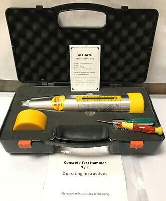 Rebound Hammer Alldays Concrete Test Hammer - Schmidt