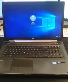 HP Elitebook 8760w laptop with Windows 10 & HP Docking Station Ryde Ryde Area Preview