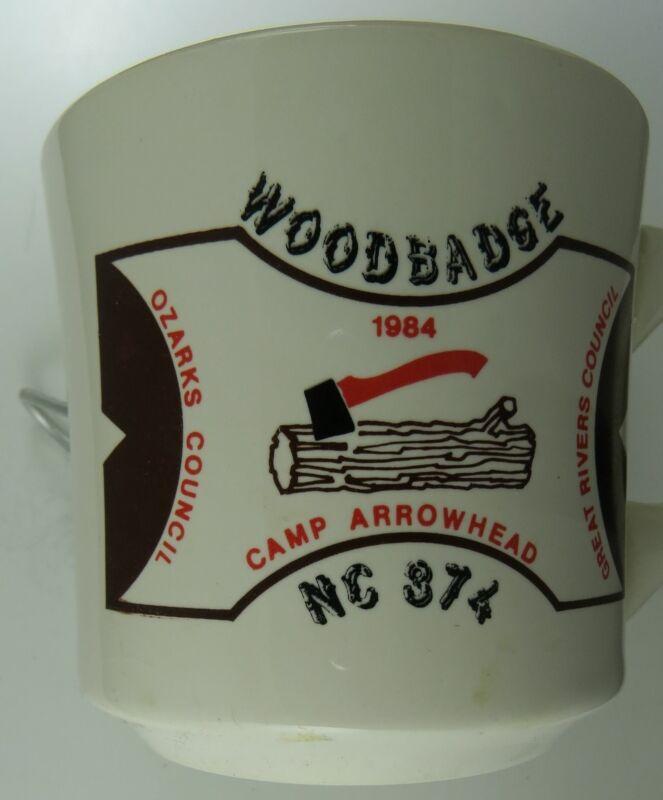 1984 Camp Arrowhead Great Rivers Council, Ozarks Council, Mug [MUG-929]