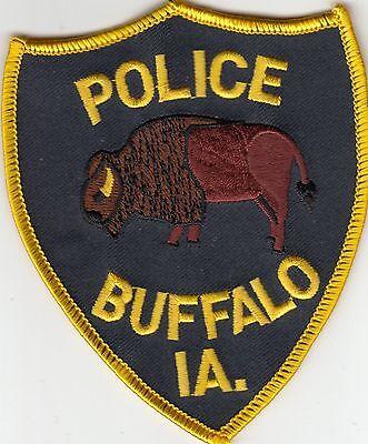 BUFFALO IOWA IA POLICE SHOULDER PATCH