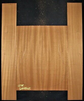 Guitar Luthier Tonewood PREMIUM QUARTERSAWN SAPELE Acoustic backs sides SET