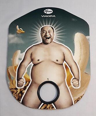 Abanico Vintage Erótico Publicidad Ventilador Pfizer Plátanos Humor Comic segunda mano  Embacar hacia Mexico