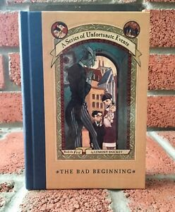 A Series of Unfortunate Events book #1 hardcover (Brand New)