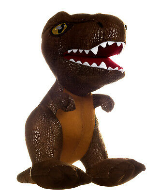 "NEW OFFICIAL 10"" JURASSIC WORLD SOFT PLUSH TOY T-REX"