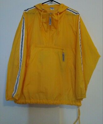 Yellow Rain Coat Wind Breaker 'Georgie' IT Halloween