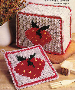 Pot Handle Cover - Free Crochet Pattern