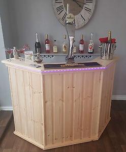 * MIAMI STYLE* /GARDEN BAR /COCKTAIL BAR MANCAVE HOME BAR DRINKS BAR