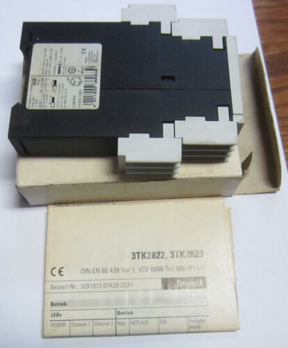 SIEMENS 3TK2822-1CB30 Safety Relay NIB