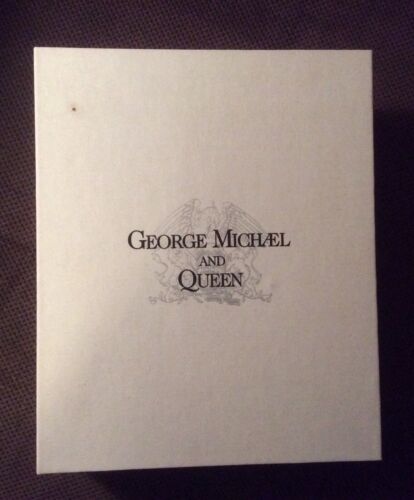 QUEEN GEORGE MICHAEL Lisa Stansfield Five Live Promo VHS/CD Press Kit 1993 RARE!
