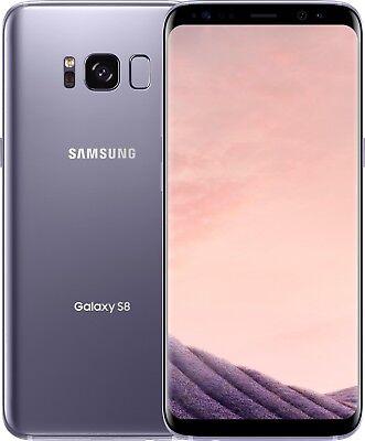 New Samsung Galaxy S8 SM-G950U 64GB Orchid Gray Unlocked ATT...